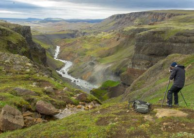 Capturing the Icelandic landscape