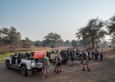 Coffee break in Zimbabwe